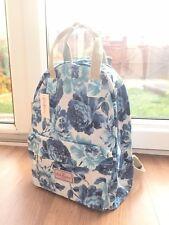 Cath Kidston Navy Blue Roses Flower Tote Backpack Gift Shoulder Handbag Day Bag