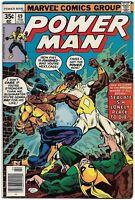 Power Man #49 VF- Marvel Comics 1978 Iron Fist Chris Claremont & John Byrne