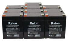 Raion Power 12V 5Ah UPS Battery For APC RBC117 - 10 Pack