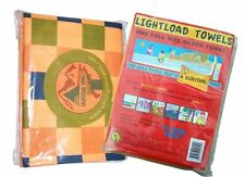Lightload Easy Carry Beach Towels 36x60 Inches (colors may vary )
