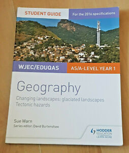 WJEC / EDUQAS Geography  AS /A-Level Year 1  Changing Places  Book (Paperback)