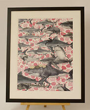 KOZYNDAN - HUNTERS - framed print - NEW