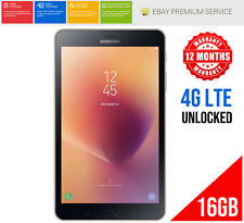 "Samsung Galaxy Tab A 2017  8"" 16GB WiFi 4G LTE 1.4Ghz Black SM-T385 Unlocked"