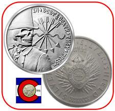 2014 SBSS Debt & Death 1 oz. Silver -- Silver Bullet Silver Shield remint