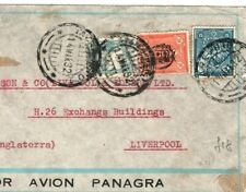 PERU Cover *Tacna* GB Liverpool Air Mail 1932 {samwells-covers} GI23