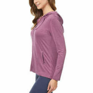 SALE! 32 Degrees Cool Ladies Zip-Up Hoody Comfy Soft with UPF 40+ 1404696