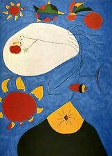 Joan Miró - Offset Plate Signed Lithograph Print on Arches Paper 48/150