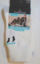 Cuddl Duds Leg Layering Crew Socks Plushfill Size 4-10   1 Pair