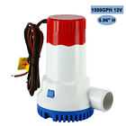 1500GPH 12V Automatic Boat Submersible Bilge Sump Water Pump Kit w/Float Switch photo