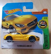 Hot Wheels 15 Mercedes AMG GT HW Exotics 2/10 1:64 256/365 2017 NEU