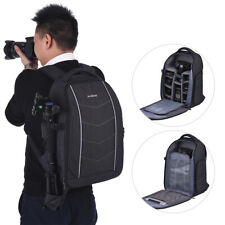Andoer Professional Camera Fabric Material Backpack Bag With Rain Cover K6V0