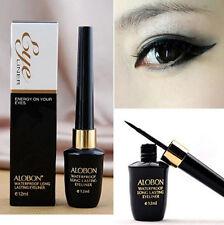 Waterproof Make Up Black Liquid Eyeliner + Eye Liner Pencil Pen Comestics Set