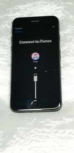 Apple iPhone 7 cell phone 32GB Jet Black A1660 Locked Working Condition