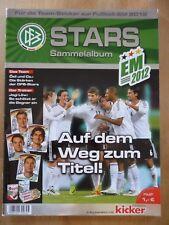Ferrero Stars EM 2012 Album - kicker - duplo hanuta - KOMPLETT - DFB (1)