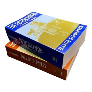 The Patton Papers: Vol I (1885-1940) & Vol II (1940-1945) - Paperback