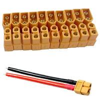 10 Paare XT60 Male + Female Einschussverbindungen Stecker für RC Lipo Set A7L9