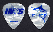 INXS Tim Farriss Signature White Pearl Swordfish Guitar Pick - 2006 Switch Tour