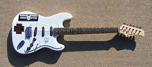 PSA/DNA Rammstein PAUL H. LANDERS Signed Autographed Electric Guitar! PROOF!