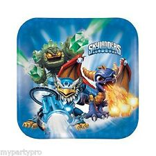 SKYLANDERS DINNER PLATES BIRTHDAY PARTY supplies FREE SHIPPING