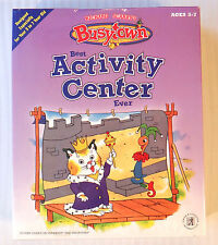 Richard Scarry's BusyTown ~ Best Activity Center Ever ~ NEW SEALED ~ PC Game