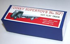 DINKY Reproduction Box 512 GUY Flat Truck