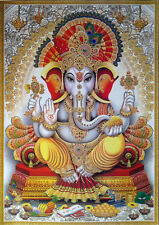 Lord Ganesha Shree Ganesh * Colorful POSTER * Big Size: 20x28