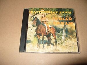 Rattlesnake Annie Indian Dream 10 Track cd 1996  Ex / Near Mint