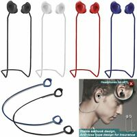 For Samsung Galaxy Buds Headphone 2019 Neck Rope Strap Anti-Lost Soft Silicone