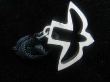 """The Dove of Peace Necklace with cord,  2"""""""