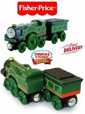 Thomas the Train Wooden Railway Emily Kids Gift Toys Realistic By Fisher-Price