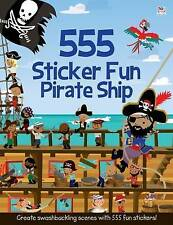 Bateau pirate sticker activity book with 555 stickers (paperback, 2014) nouveau