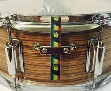 Snare Flair Drum Strap Percussion Bob Marley Reggae Rasta USA Made SnareFla