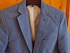 TOMMY HILFIGER NWT BOY'S DRESSWEAR BLAZER 18 DARK BLUE HORIZ STRIPE LINED $105