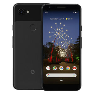 Google Pixel 3a Smartphone 64GB Unlocked Just Black