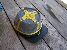 Civil War Reenactor Officers Kepi XLarge 4 Row Braids