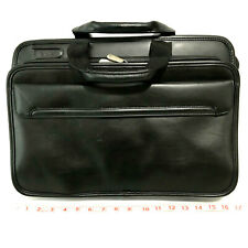 "Targus Leather Laptop/Commuter 16"" Black Bag"