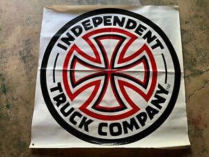 "Independent Indy Trucks Skateboard Banner 44""x44"" Old School Vintage Santa Cruz"