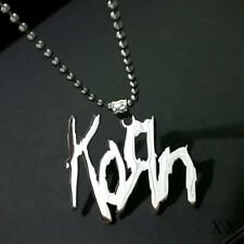 KORN polishing stainless steel pendant with a matching 30 inch ball chain