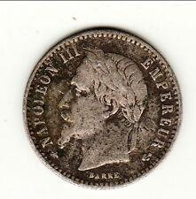 RARE TTB  50 CENTIMES NAPOLEON III 1868 A    B1T2