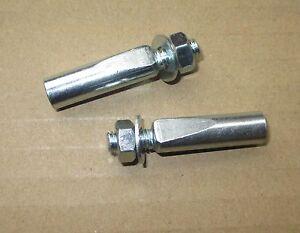 Bicycle Crank Cotter Pins 1 pair 9.5 / 9.0 / 8.0