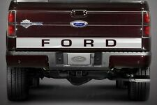 FORD F150 2004-2014 STAINLESS STEEL REAR MOLDING