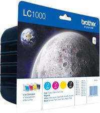 Original Brother LC1000 Tintenpatronen-Multipack »LC1000VALBPDR« 4-farbig