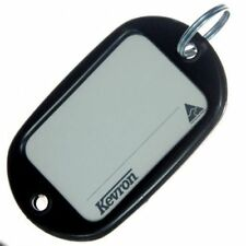 Kevron Motel Hotel Key Tag Jumbo Black Pack-5 ID10