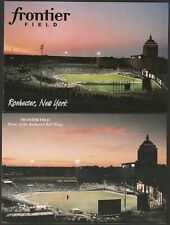(2) Rochester red Wings Frontier Field Baseball and Soccer Stadium Postcards