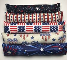 Catnip Kicker w/ Jingle Bell July 4 Patriotic Usa America Flag Lot Of 5 Cat Toy