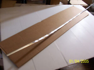 1977 EL CAMINO RIGHT SIDE BED BODY UPPER TRIM OEM USED DENTED CHEVROLET 1 PC