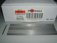 "Spotnails 26132 2"" Inch Flooring Cleat Nails Bostitch M111FS (5,000)"