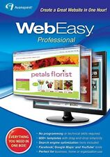 Avanquest Webeasy Professional 10,design websites,HTML,listing,1000+ templates