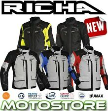 RICHA INFINITY JACKET WATERPROOF MOTORCYCLE ADVENTURE TOURING ENDURO D3O CE