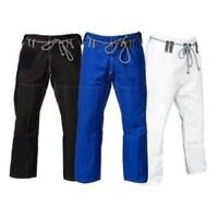 BJJ GI PANTS GK Fight Gear Ripstop Black Blue White Grappling MMA UFC Jiu Jitsu